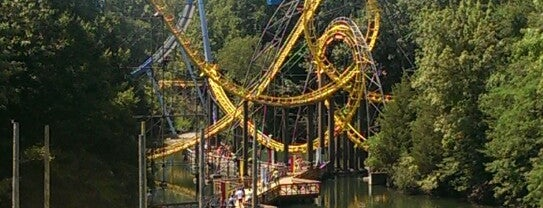 Loch Ness Monster - Busch Gardens is one of Roller Coaster Mania.