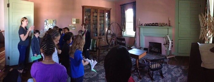 Wylie House Museum is one of B-town for Kids.