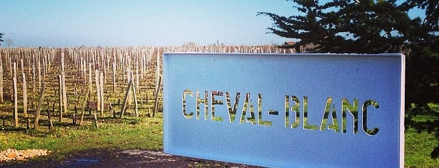 Chateau Cheval Blanc is one of Mayor au moins une fois.