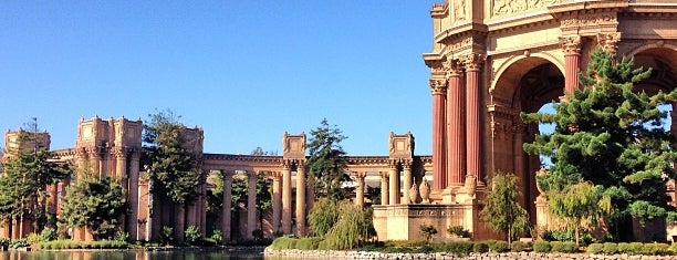 Palace of Fine Arts is one of San Francisco.