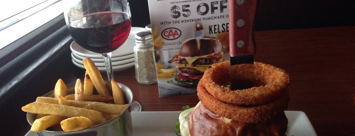 Kelsey's is one of Favorite Food.