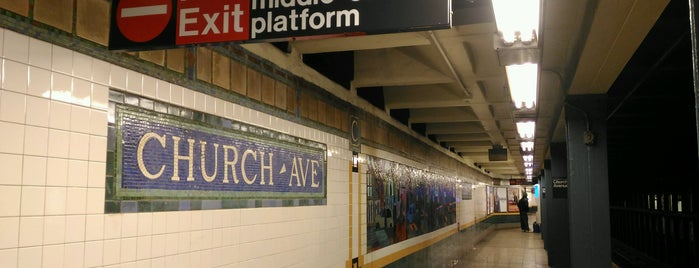 MTA Subway - Church Ave (2/5) is one of MTA Subway - 2 Line.