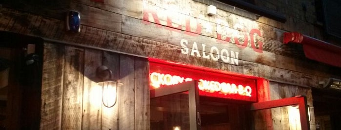 Red Dog Saloon is one of Guardian & Observer Restaurant Reviews.