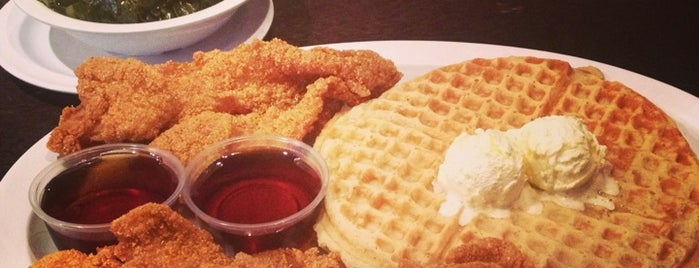 Chicago's Home Of Chicken & Waffles is one of The 15 Best Southern and Soul Food Restaurants in Chicago.