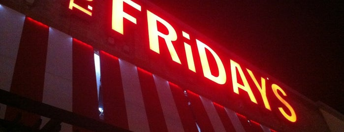 T.G.I. Friday's is one of Favorite Places.