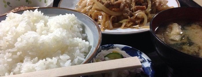 お食事処 若喜 is one of The 麺.