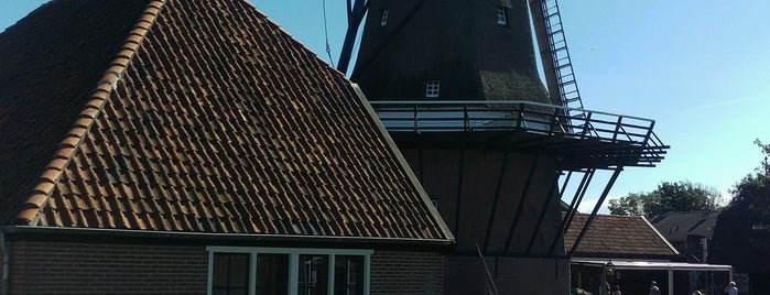 Molen De Traanroeier is one of Dutch Mills - North 1/2.