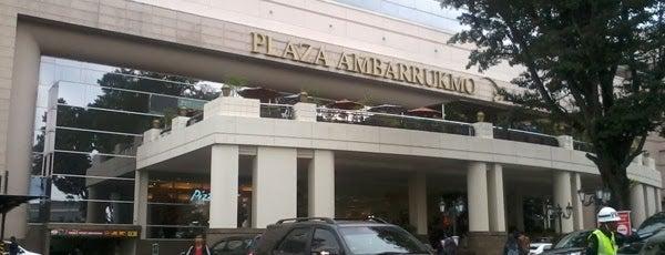Plaza Ambarrukmo is one of Eliza's tips.