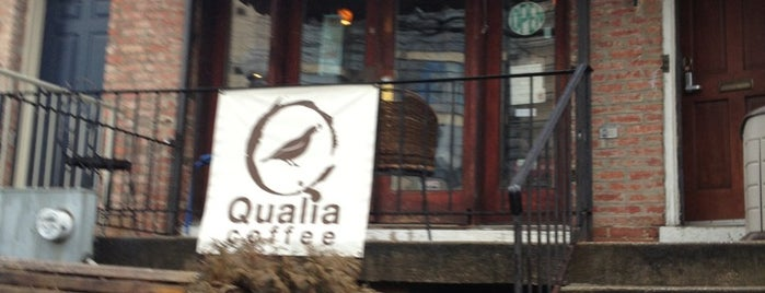 Qualia Coffee is one of places to dine.