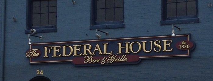 Federal House Bar & Grille is one of bars.