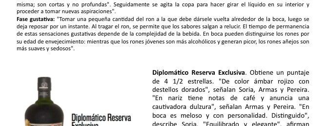 Licores Mundiales is one of Caracas según Diplomático.