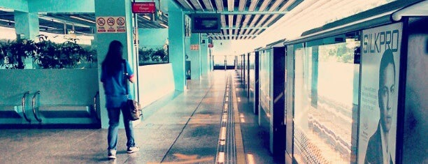 Clementi MRT Station (EW23) is one of usual suspects.