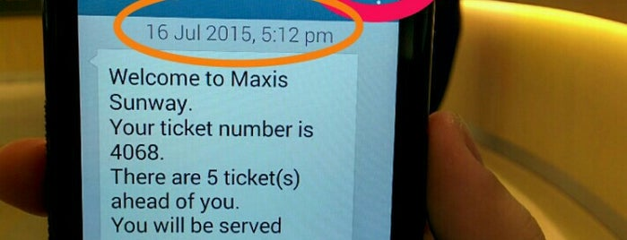 Maxis Centre is one of KL.