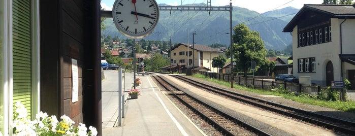 Bahnhof Klosters Dorf is one of Bahnhöfe Top 200 Schweiz.