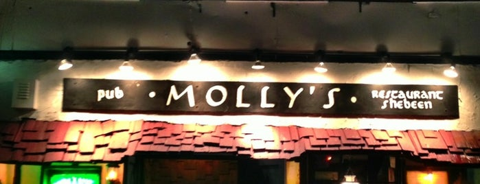 Molly's Shebeen is one of NYC Burgers.
