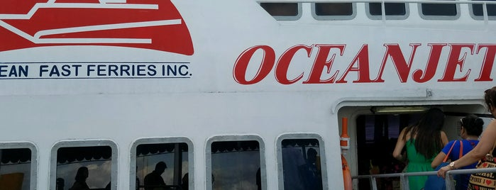 OceanJet Tagbilaran To Cebu is one of Places I've been to....