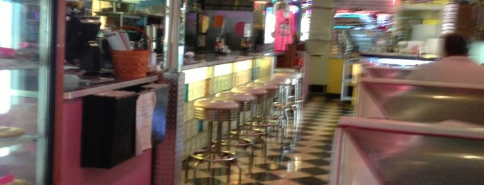 Ellie's 50's Diner is one of Peewee's Big Ass South Florida Food Adventure!.