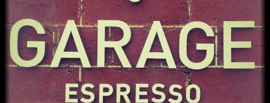 Garage Espresso is one of Coffee, Breakfasts and Lunch. Cafe's of the SE.