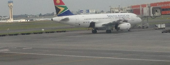Indaba OR Tambo Int Airport is one of Kuyumcu.