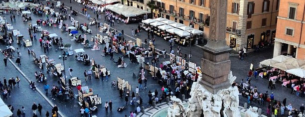 Piazza Navona is one of Italy - Summer 2012.