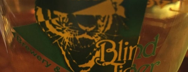 The Blind Tiger Brewery is one of seveneightfive local flavor.