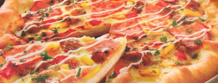 """Pizza Hut is one of Ney's """"Dine-Eat-Hangout"""" - Food & Beverages."""