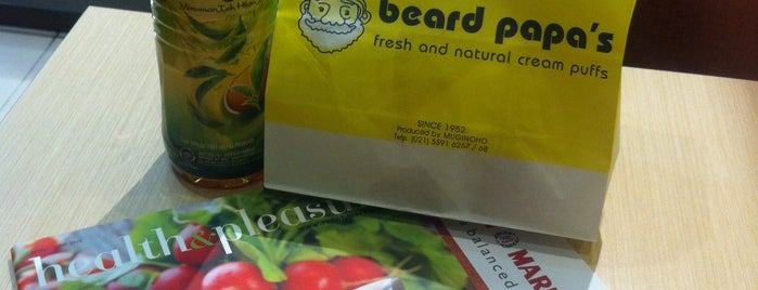 Beard Papa's is one of Baker Dozen Badge in Jakarta.