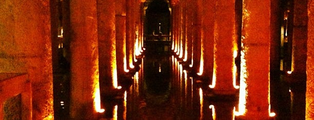 Yerebatan Sarnıcı | Basilica Cistern is one of Turkey trip.