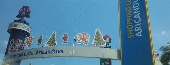 Shopping Aricanduva is one of Trampo.