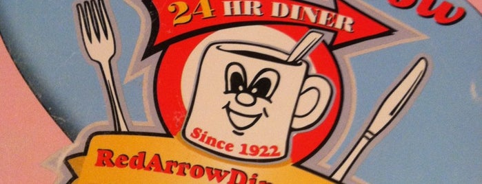 Red Arrow Diner is one of Manchester, Downtown.