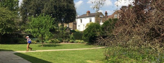 Keats House is one of Hampstead.