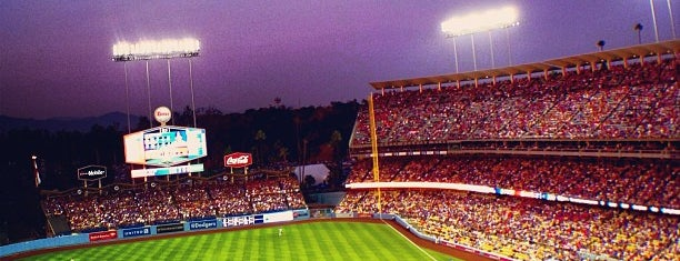 Dodger Stadium is one of Major League Ballparks.