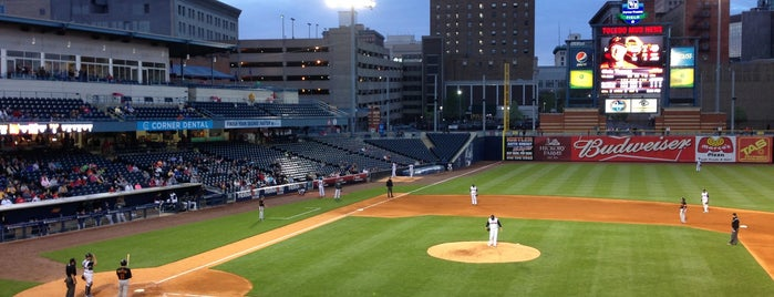Fifth Third Field is one of Places in the mighty #toledo area. #ttown #visitUS.