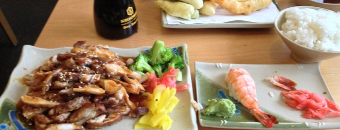 Ichiban Sushi is one of the ususal.