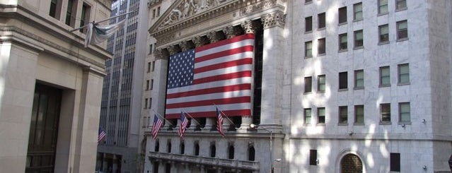 New York Stock Exchange is one of Architecture - Great architectural experiences NYC.