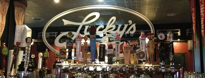 Lucky's Taproom Eatery is one of Welker Studio's Culture Class.