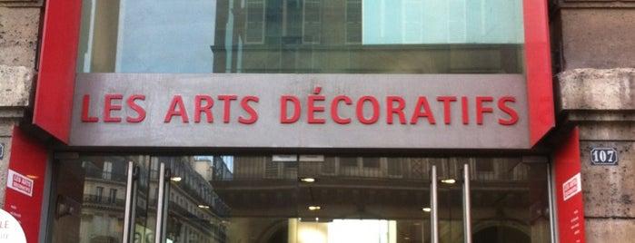 Les Arts Décoratifs is one of Musées de Paris.