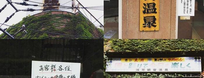 浅草観音温泉 is one of Tokyo Onsen.