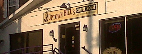 Uptown Bill's Coffeehouse & Neighborhood Arts Center is one of Iowa's Music Venues.