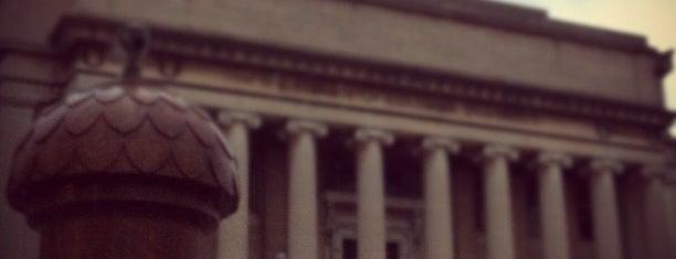 Columbia University is one of NYC's Presidential Haunts.