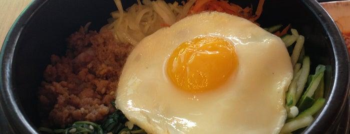 Mujigae Bibimbab & Casual Korean Food is one of Novina's tips.