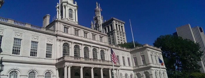 New York City Hall is one of Badge list.