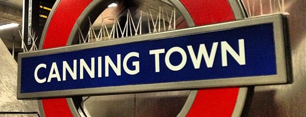 Canning Town London Underground and DLR Station is one of Tube Challenge.