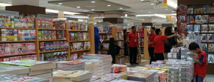 Gramedia is one of Bookworm Badge.