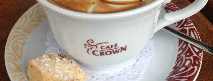 Cafe Crown is one of The places I love in Türkiye.