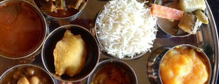 Udupi Palace is one of Places I like to eat (I'm vegetarian).