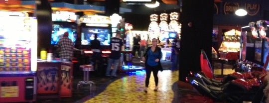 Dave & Buster's is one of Out of Town.