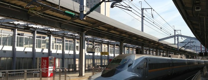 JR 山陽新幹線 小倉駅 (Kokura Sta.) is one of JR.