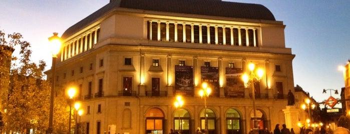 Plaza de Isabel II is one of @ Madrid (MD, España).