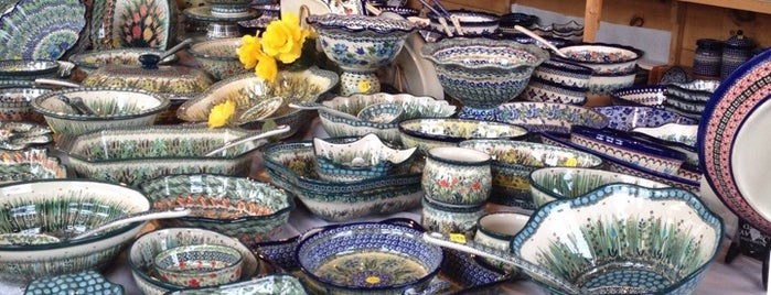 Polish Pottery Pride is one of David's tips.